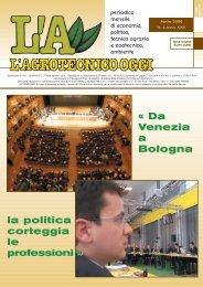 L'Agrotecnico Oggi aprile 06 - Collegio Nazionale degli Agrotecnici