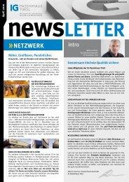 netzwerk - IG Passivhaus Tirol