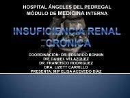 hospital ángeles del pedregal módulo de medicina interna