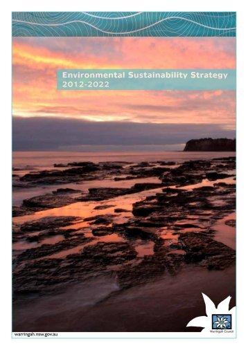 Environmental Sustainability Strategy - Warringah Council - NSW ...