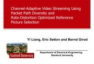 Channel-Adaptive Video Streaming Using Packet Path Diversity and ...