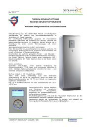 THERMIA DIPLOMAT OPTIMUM THERMIA DIPLOMAT ... - Geoliving