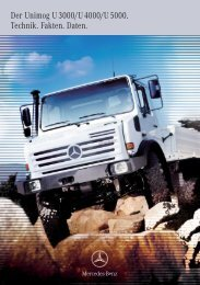 Der Unimog U 3000/U 4000/U 5000. Technik ... - Mercedes-Benz