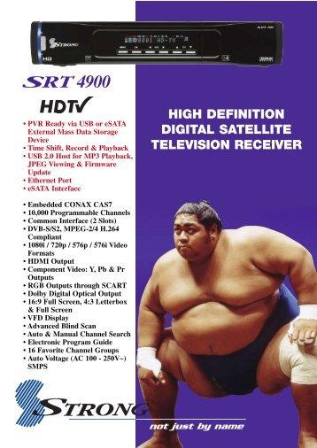 SRT4900 - MyTV