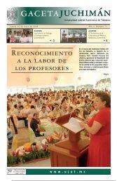 Año 4 Numero 71 - Publicaciones - Universidad Juárez Autónoma ...