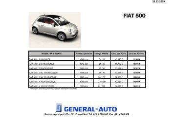 FIAT PANDA - General-auto