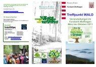 Treffpunkt WALD Veranstaltungen im Forstamt Wolfhagen März bis ...