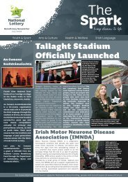 Tallaght Stadium Officially Launched - National Lottery