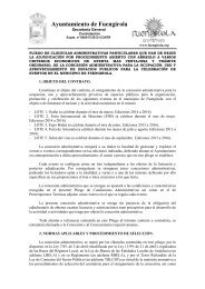 01 pliego eventos - Ayuntamiento de Fuengirola