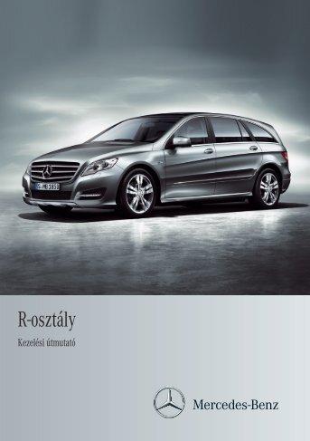 Mercedes-Benz R-osztály kezelési útmutató letöltése (PDF)