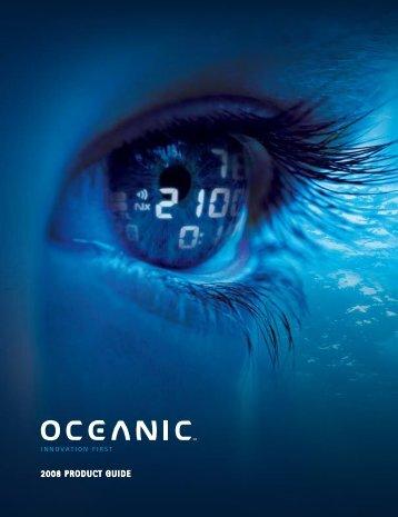 Oceanic 2008 catalog - ScubaDiverInfo.com