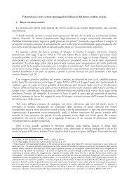 Volontariato e terzo settore: protagonisti ... - ArezzoGiovani.it