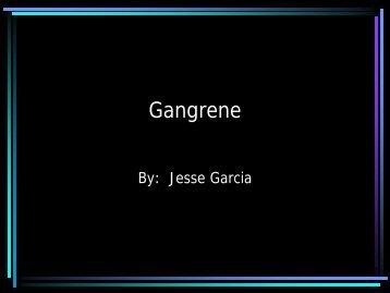 Gangrene - Techno Ayurveda
