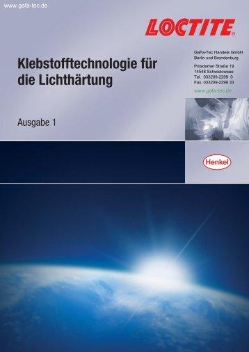 Loctite LightCure - Webshop - GaFa Tec Handels GmbH
