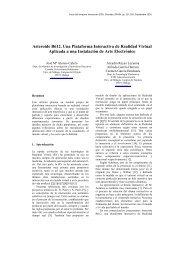 Asteroide B612. Una Plataforma Interactiva de Realidad Virtual ...