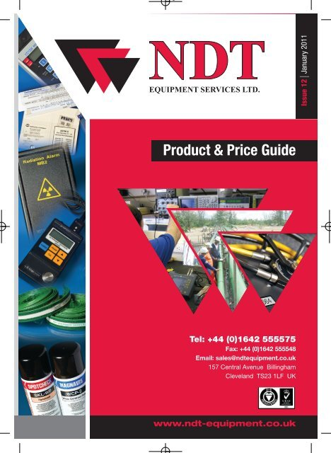 62508 NDT PRICE LIST 2011.indd - NDT Equipment Services Ltd