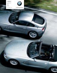 Le plaisir de conduire La BMW Z4 Z4 Roadster 2.0i 2.5i 2.5si 3.0si ...
