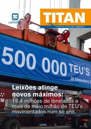 Leixões atinge novos máximos - Associação dos Portos de Portugal