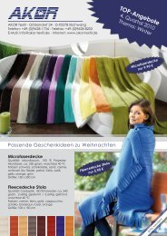 TOP-Angebote - AKOR Textil