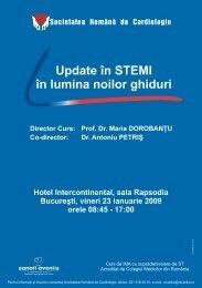 Invitatie STEMI_Bucuresti.cdr - Societatea Romana de Cardiologie