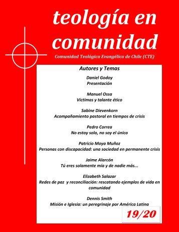 Autores y Temas - Comunidad Teológica Evangélica de Chile
