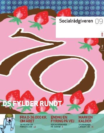 Socialrådgiveren nr. 9-2008 - Dansk Socialrådgiverforening