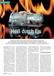 Heiß durch Eis - isocal HeizKühlsysteme GmbH