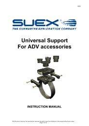 Universal Support For ADV accessories - Suex