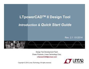 sentry ii hs quick start wiring diagram ltpowercad ii quick start linear technology
