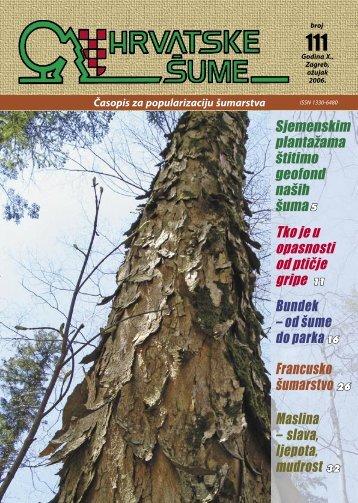 Više od polovice »Sjevernog Psunja – Javorovice - Hrvatske šume