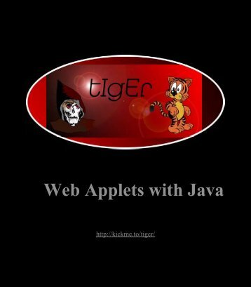 Creating Web Applets with Java.pdf - METU Computer Engineering