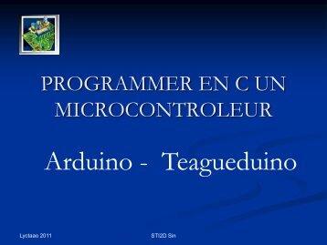 Arduino - Teagueduino