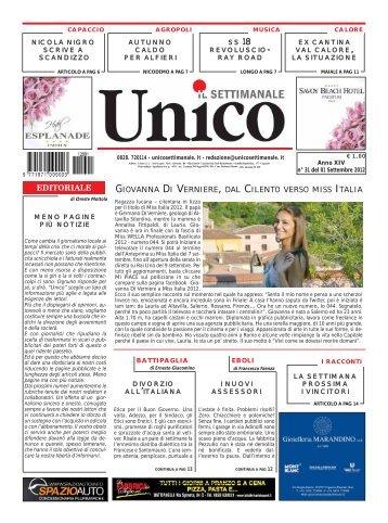 Unico 01 settembre 2012