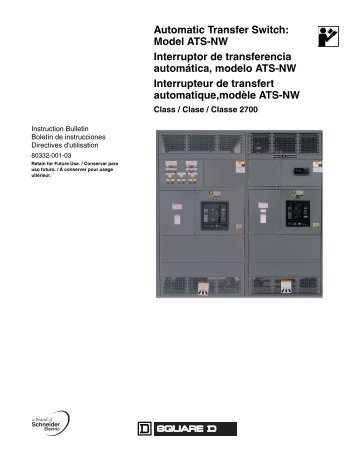 Eaton Ats Manual