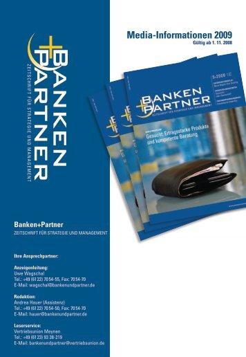 Media-Informationen 2009 - Banken+Partner