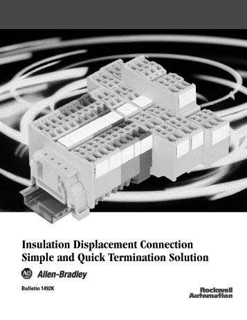 Insulation Displacement Connection Simple and Quick ... - Piti Group