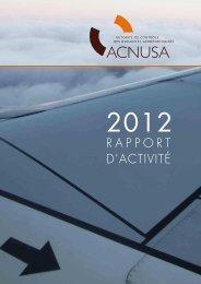 rapport d'activité - Acnusa