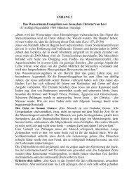 ANHANG 2 Das Wassermann-Evangelium von Jesus dem Christus ...