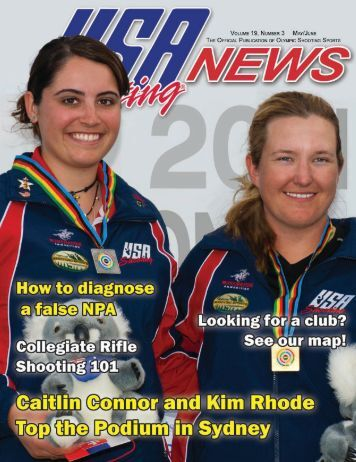 May/June 2011: Volume 19, Number 3 - USA Shooting