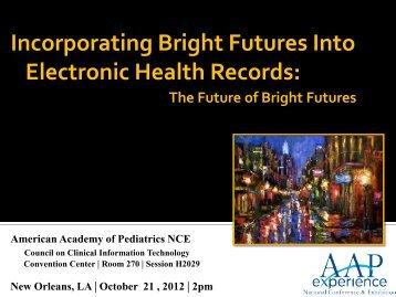 What is Biomedical Informatics? - American Academy of Pediatrics