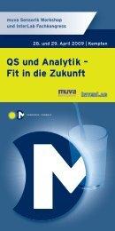Programm QS – und Analytik - mcongressconsult.com