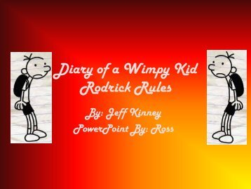 The Diary of a Wimpy Kid - Kenton County Schools