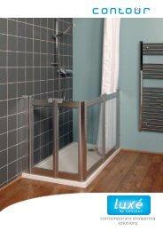contemporary showering solutions - Contour Showers