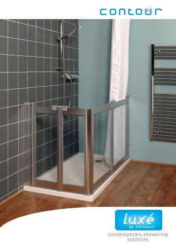 contemporary showering solutions - Contour Showers