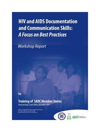 SADC Best Practice Training Workshop Report final.pdf - SAfAIDS