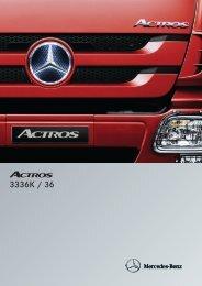 Actros 3336 K 6x4 - Mercedes Benz