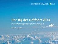 Der Tag der Luftfahrt 2013 - BDL