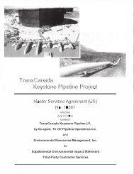 Keystone Pipeline Project - Keystone XL pipeline - US Department ...