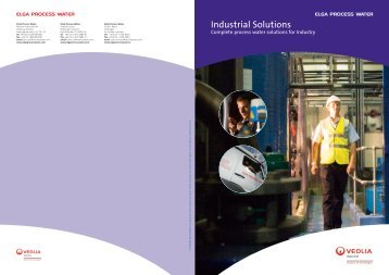 Industrial Solutions (pdf - 1.4MB) - Elga Process Water