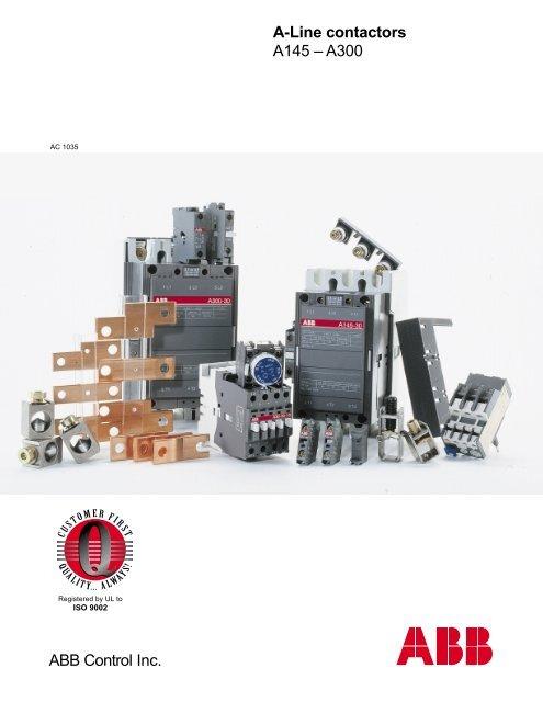 [FPER_4992]  ABB Control Inc. A-Line contactors A145 – A300 - Piti Group | Abb 145 30 Contactor Wiring Diagram |  | Yumpu